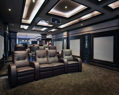 Top 40 Best Home Theater Lighting Ideas Illuminated