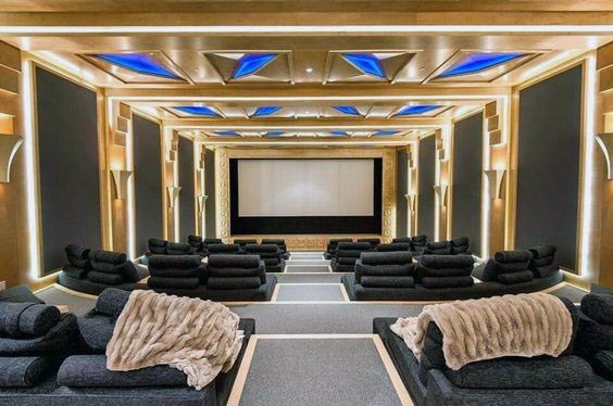 Home Theater Lighting Interior Design