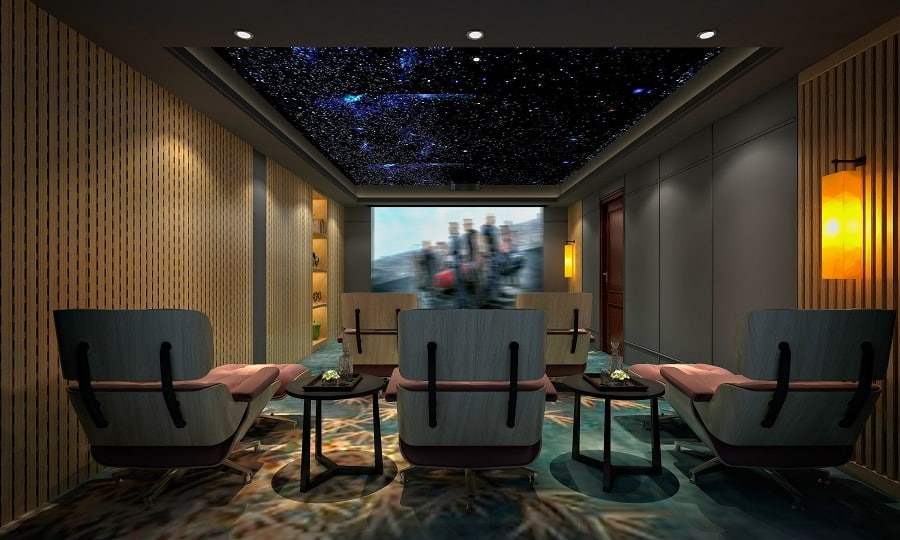 Sleek Home Theater Seating Ideas