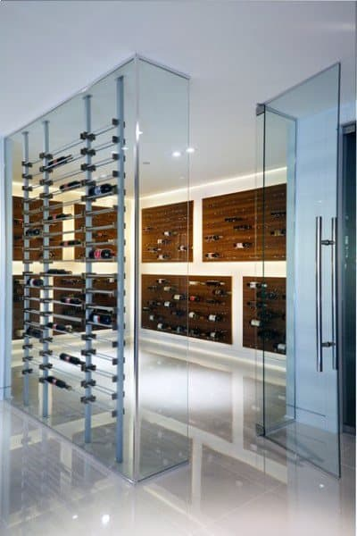 Top 80 best wine cellar ideas vino room designs for Home wine cellar designs