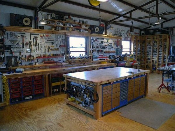 Home Workshop Ideas