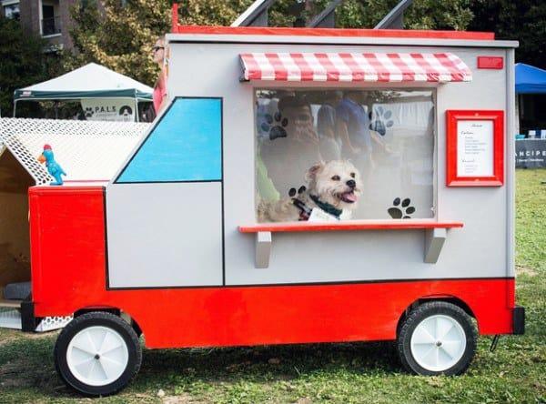 Homemade Dog House Ideas Food Truck Themed