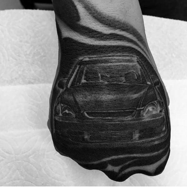 Honda Themed Tattoo Ideas For Men