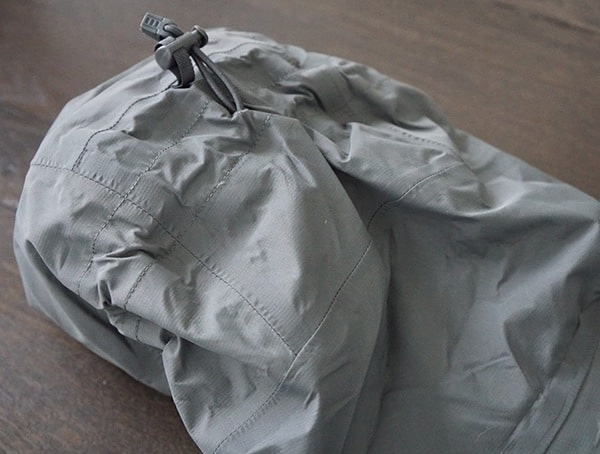 Hood Beyond Clothing K6 Arx Rain Jacket With Adjustable Pull String Cord