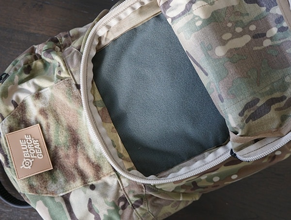 Hook And Loop Lined Compartment Blue Force Gear Tracer Pack