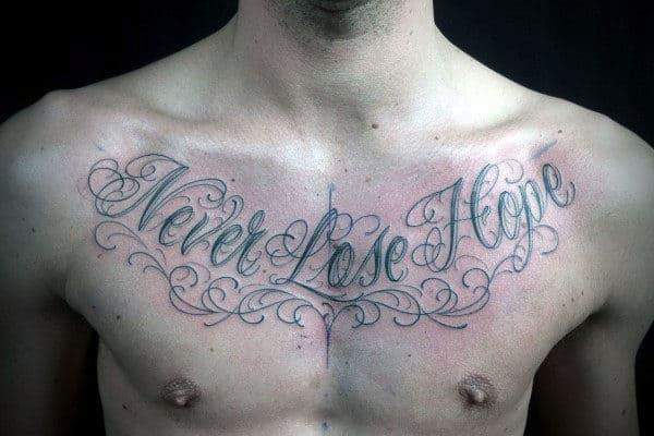 Sprüche tattoo männer