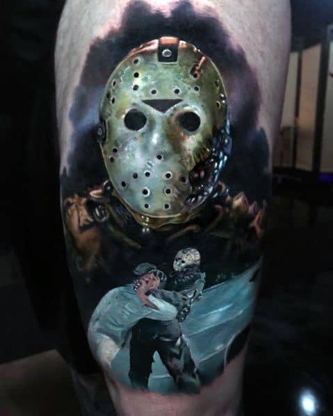 Horror Movie Mens Tattoos