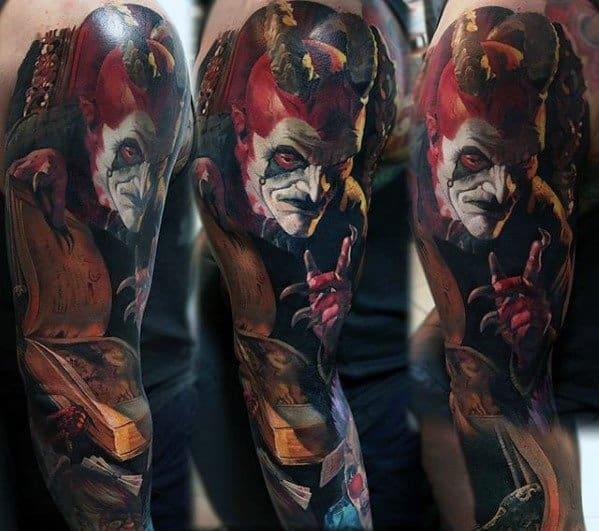 Horror Movie Tattoo For Men