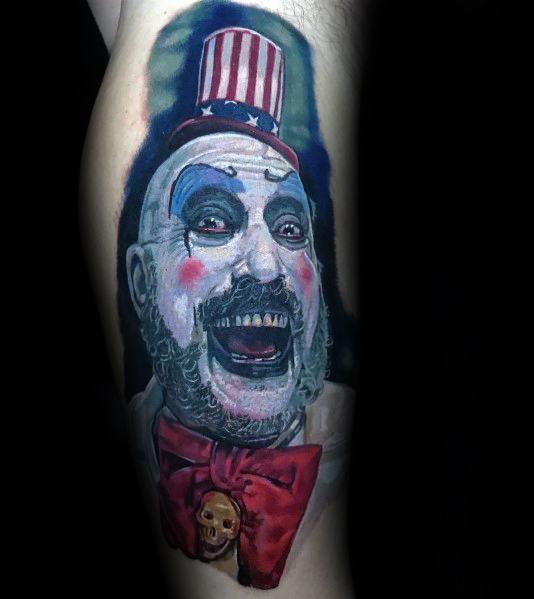 Horror Movie Tattoo Ideas For Men
