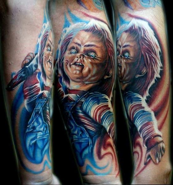 Horror Movie Tattoo Inspiration For Men