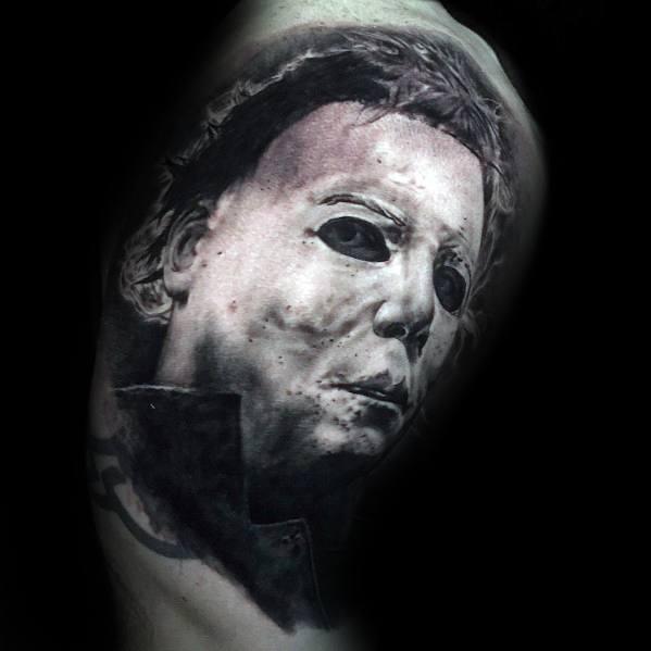 Horror Movie Tattoos For Gentlemen