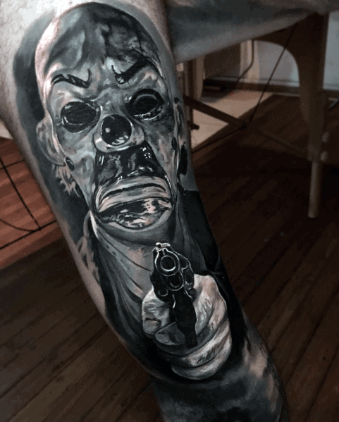 Horror Movie Tattoos For Men