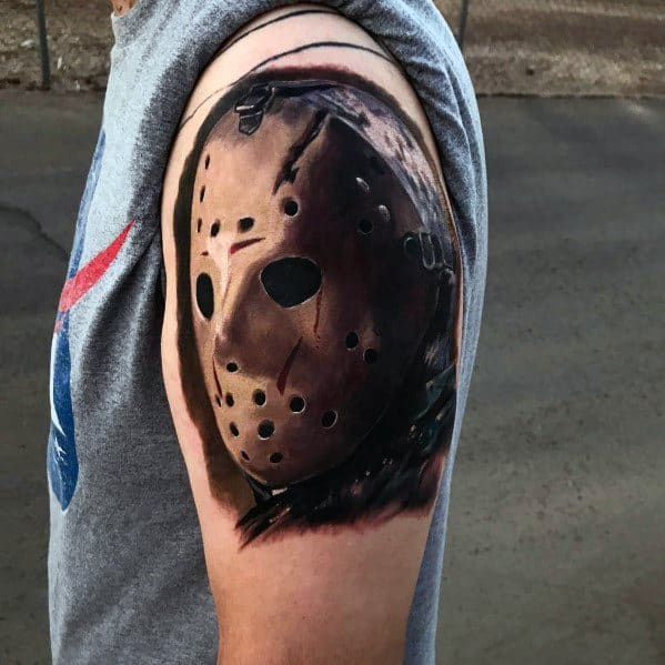 Horror Movie Themed Tattoo Design Inspiration