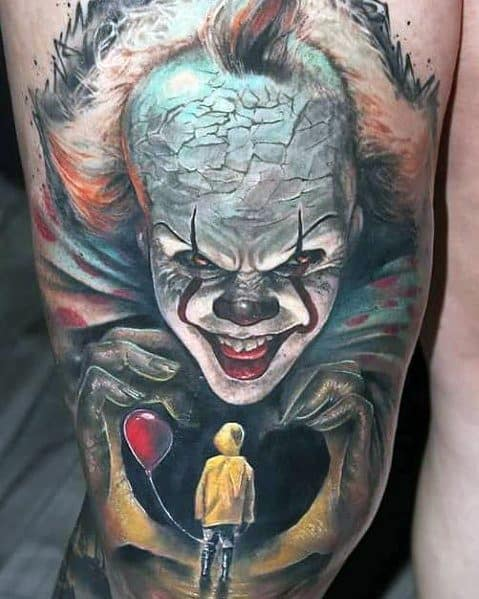 ac88aac011f65 80 Horror Movie Tattoos For Men - Scary Film Design Ideas