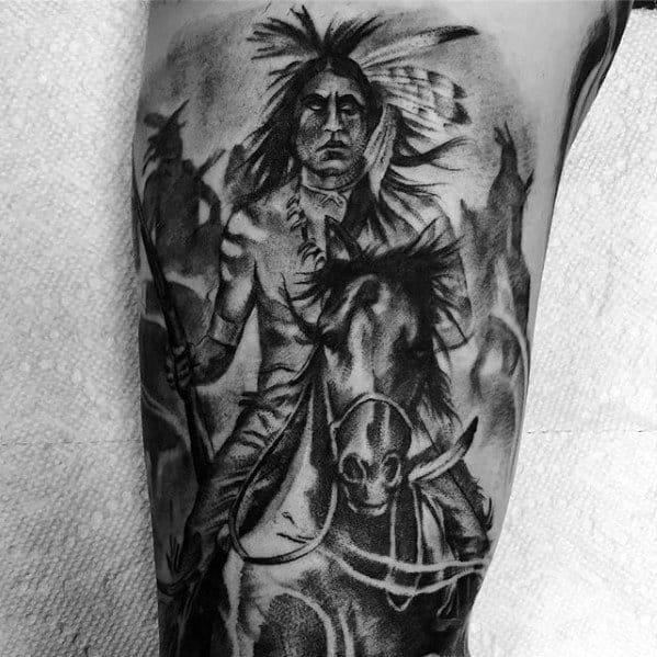 Horse Guys Tattoo Designs