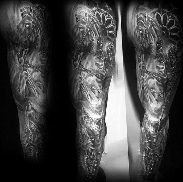 Horse Guys Tattoos