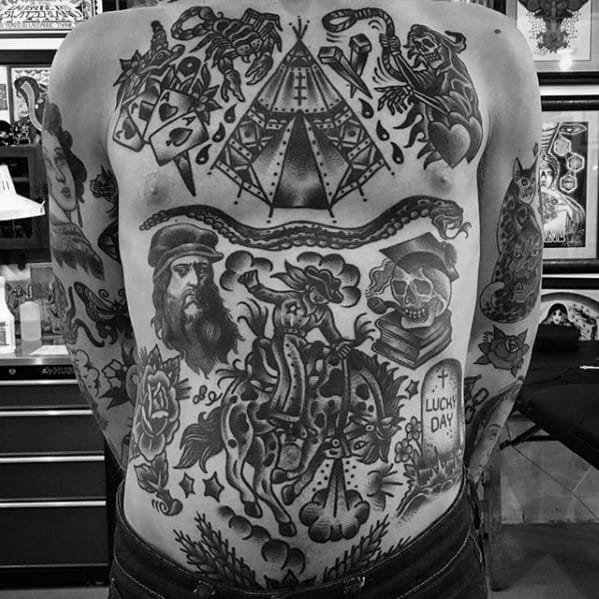 Horse Male Tattoo