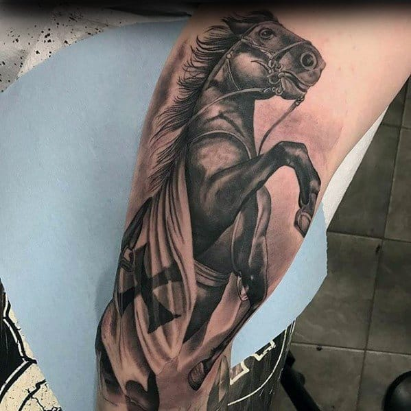Horse Mens Tattoo Ideas
