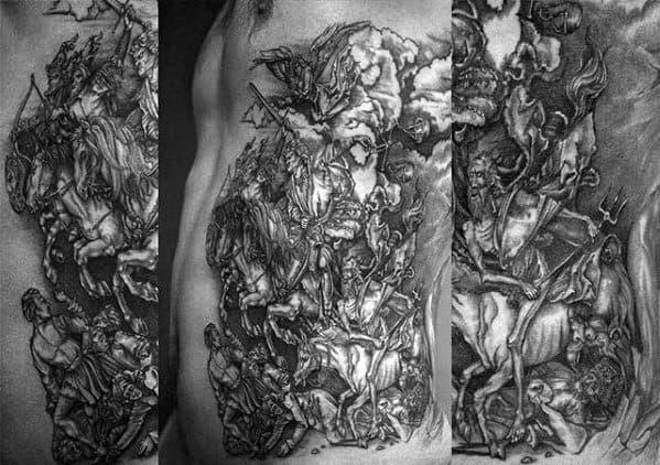 Horse Mens Tattoos