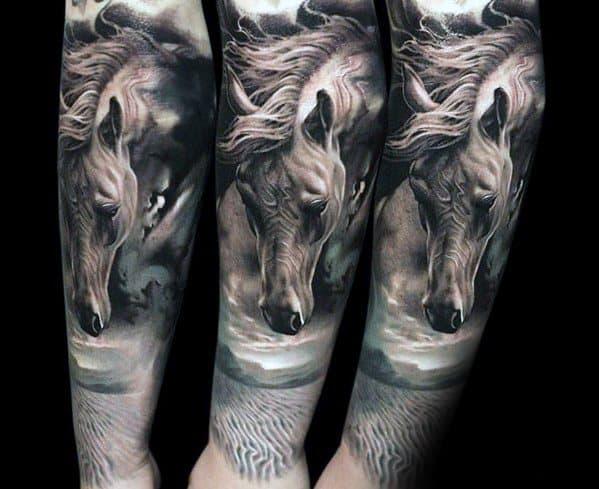 Horse Tattoo Designs For Men