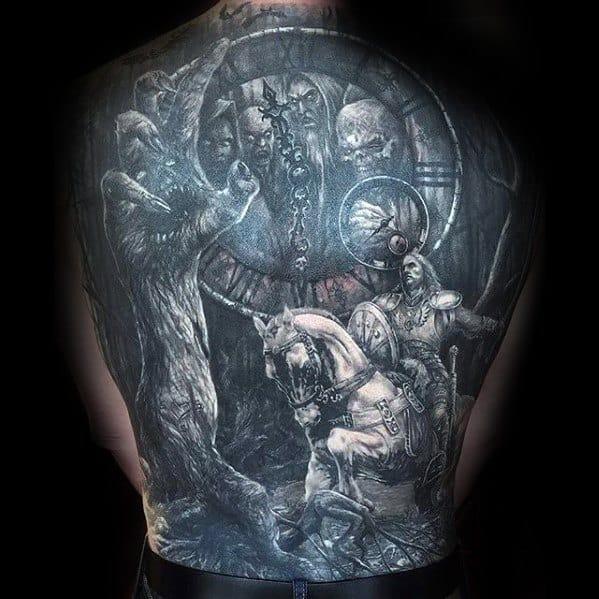 Horse Tattoo On Men