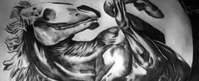 70 Horse Tattoos For Men – Noble Animal Design Ideas
