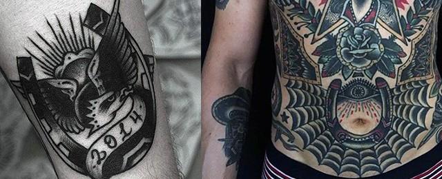60 Horseshoe Tattoo Designs For Men – Good Luck Ink Ideas