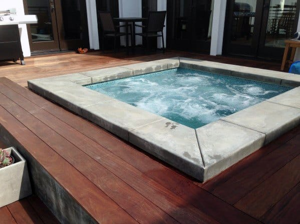 Hot Tub Deck Cool Outdoor Ideas