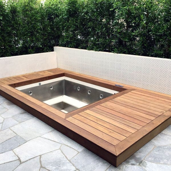 Top 80 Best Hot Tub Deck Ideas - Relaxing Backyard Designs