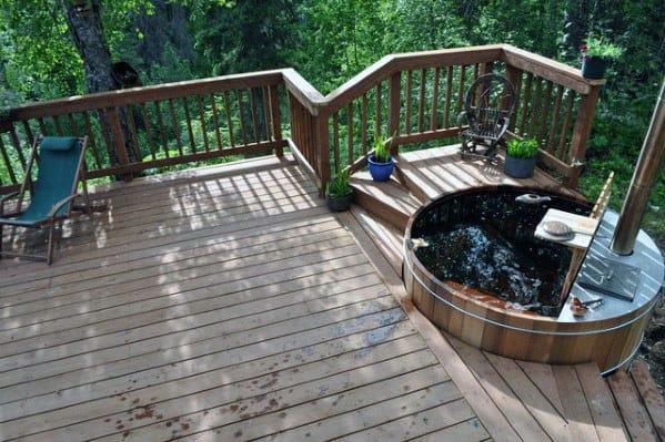 Hot Tub Deck Design Inspiration