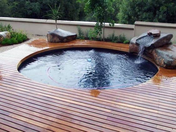 Hot Tub Deck Exterior Ideas