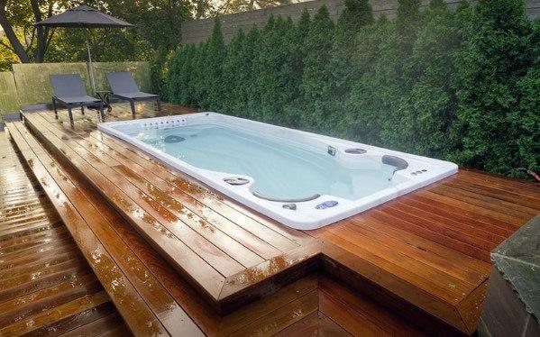 Hot Tub Deck Home Designs
