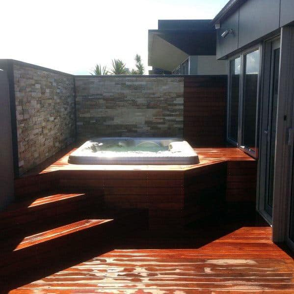 Hot Tub Deck Home Ideas