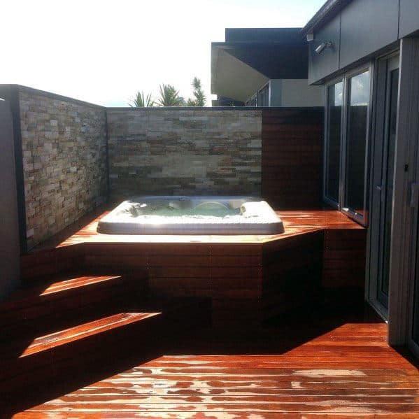 Hot Tub Deck Home Ideas