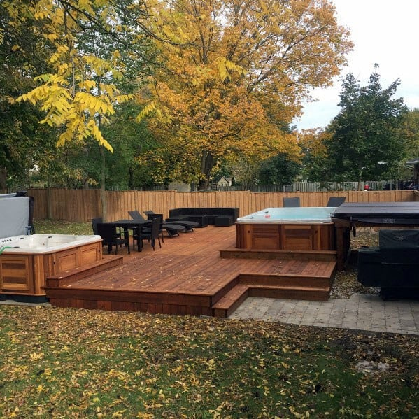 Hot Tub Deck Idea Inspiration