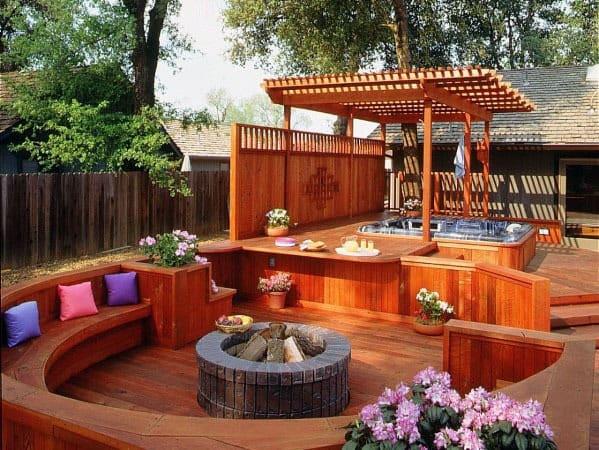 Hot Tub Deck Ideas