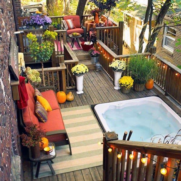 Hot Tub Deck Ideas Inspiration