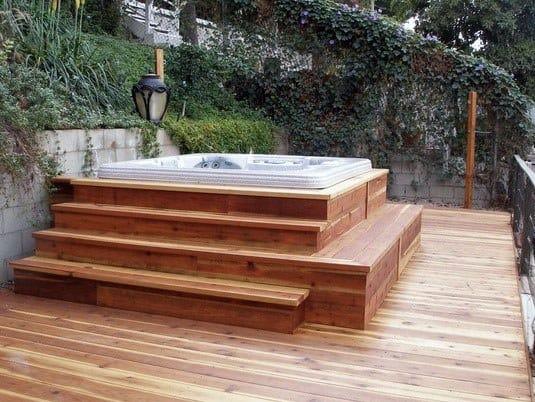 Hot Tub Deck Spectacular Ideas