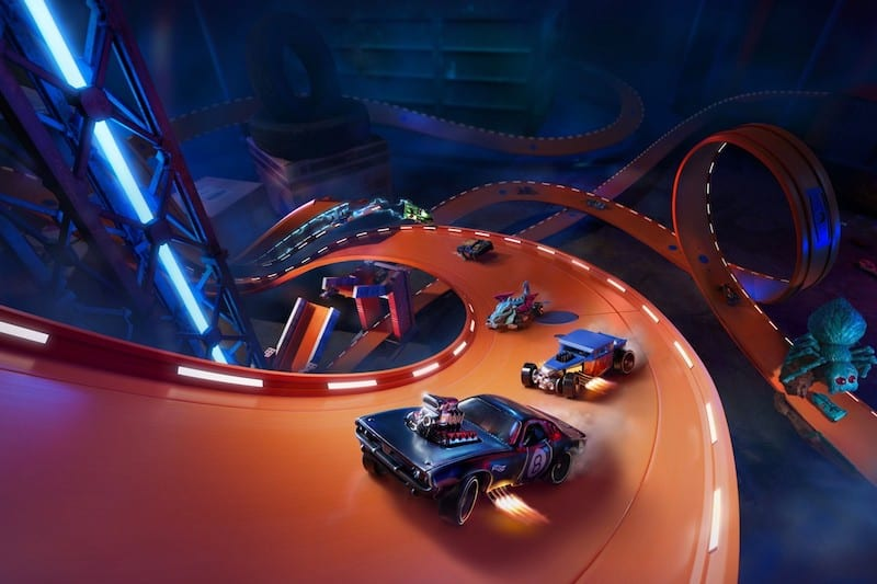 'Hot Wheels Unleashed' Trailer Promises Action-Packed Racing