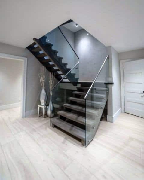 House Basement Stairs Ideas Modern