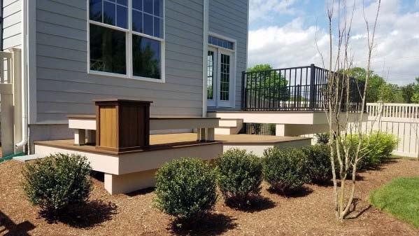 House Deck Bench Ideas