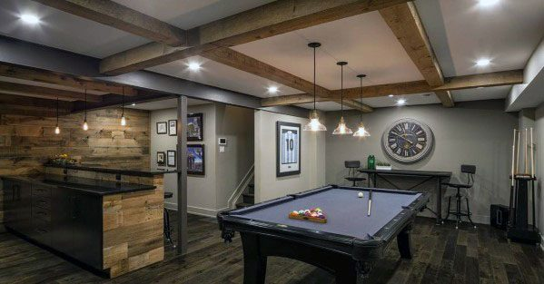House Finished Basement Ideas