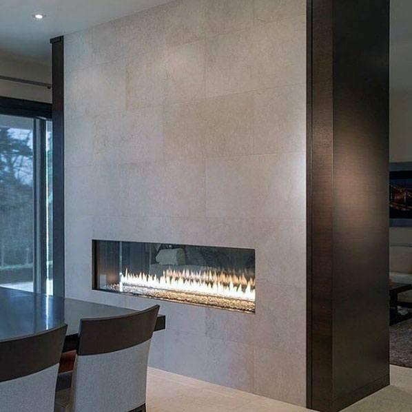 House Linear Fireplace Ideas