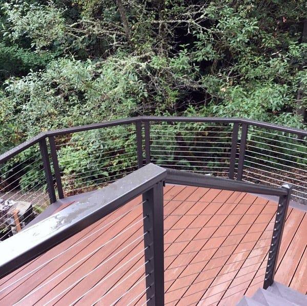 House Metal Deck Railing Ideas