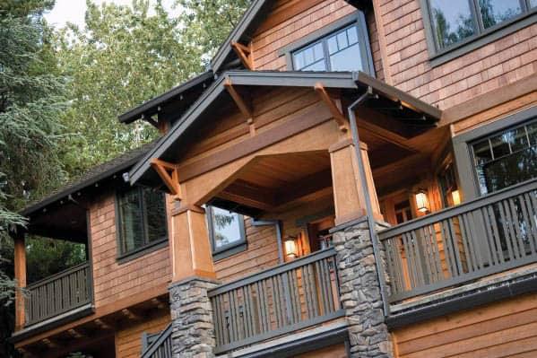 House Siding Design Idea Inspiration Cabin Wood