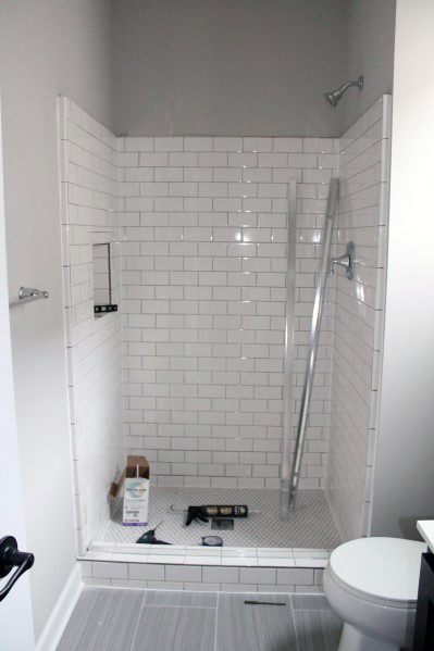 House Subway Tile Shower Ideas
