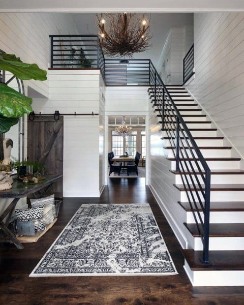 Interior Home Decoration Indoor Stairs Design Pictures: Top 70 Best Staircase Ideas