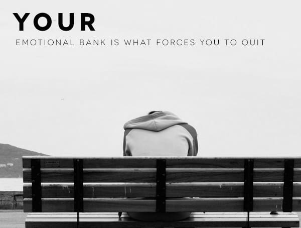 How To Be A Successful Businessman Manage Your Emotional Bank Account