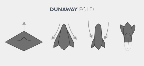 How To Fold A Dunaway Pocket Square