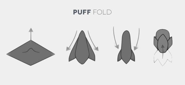 How To Fold A Puff Pocket Square